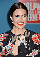 HOLLYWOOD, CA - NOVEMBER 05: Mandy Moore attends the Premiere Of Disney's 'Ralph Breaks The Internet' at the El Capitan Theatre on November 5, 2018 in Los Angeles, California.<br /> CAP/ROT/TM<br /> &copy;TM/ROT/Capital Pictures