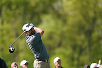 Ryan Moore (USA) on the 5th tee during the 1st round at the PGA Championship 2019, Beth Page Black, New York, USA. 17/05/2019.<br /> Picture Fran Caffrey / Golffile.ie<br /> <br /> All photo usage must carry mandatory copyright credit (© Golffile | Fran Caffrey)