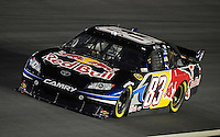 Oct. 15, 2009; Concord, NC, USA; NASCAR Sprint Cup Series driver Brian Vickers during qualifying for the Banking 500 at Lowes Motor Speedway. Mandatory Credit: Mark J. Rebilas-