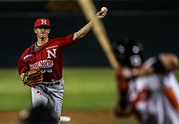 Zack Dodson  pitcher inicial de los mayos, durante juego de beisbol de la Liga Mexicana del Pacifico temporada 2017 2018. Tercer juego de la serie de playoffs entre Mayos de Navojoa vs Naranjeros. 04Enero2018. (Foto: Luis Gutierrez /NortePhoto.com)