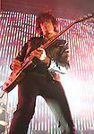 IRVINE, CA. - June 05: Musician Dean DeLeo of Stone Temple Pilots performs at the 2010 Los Angeles KROQ Weenie Roast at Verizon Wireless Amphitheater on June 5, 2010 in Irvine, California.