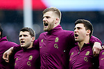 L-R, England's Richard Wigglesworth, England's George Kruis and England's Ben Youngs - RBS 6 Nations - England vs Italy - Twickenham Stadium - London - 14/02/2015 - Pic Charlie Forgham-Bailey/Sportimage