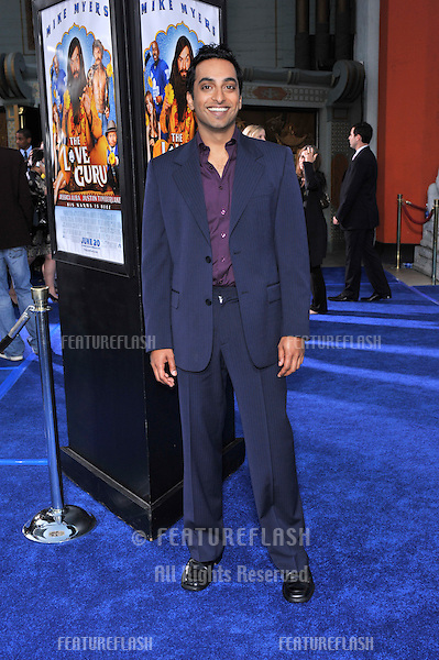 "Manu Narayan at the Los Angeles premiere of his new movie ""The Love Guru"" at Grauman's Chinese Theatre, Hollywood..June 11, 2008  Los Angeles, CA.Picture: Paul Smith / Featureflash"