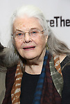 Lois Smith attends the Off-Broadway Opening Night of the Signature Theatre's 'Thom Pain' at the Signature Theatre on November 11, 2018 in New York City.