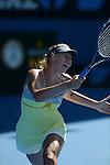 Maria Sharapova (RUS) Crushes Kirsten Flipkens (BEL) 6-1, 6-0