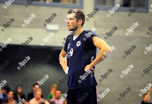 2014-08-30 / Volleybal / seizoen 2014-2015 / Topvolley Antwerpen / Bas VAN BEMMELEN<br /><br />Foto: Mpics.be