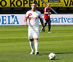 Nederland, Nijmegen, 19 augustus 2012.Eredivisie.Seizoen 2012-2013.N.E.C.-Ajax (1-6).Theo Janssen van Ajax tijdens de warming-up