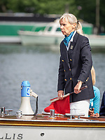 Henley Royal Regatta, Henley on Thames, Oxfordshire, 28 June - 2 July 2017.  Friday  09:50:45   30/06/2017  [Mandatory Credit/Intersport Images]<br /> <br /> Rowing, Henley Reach, Henley Royal Regatta.<br /> <br /> Mrs F K Dennis, Umpire