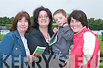 having fun at the Killarney races on Monday.