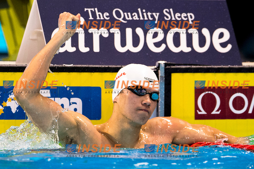WANG Shun CHN Gold Medal<br /> Men's 200m Individual Medley<br /> 13th Fina World Swimming Championships 25m <br /> Windsor  Dec. 6th, 2016 - Day01 Finals<br /> WFCU Centre - Windsor Ontario Canada CAN <br /> 20161206 WFCU Centre - Windsor Ontario Canada CAN <br /> Photo &copy; Giorgio Scala/Deepbluemedia/Insidefoto