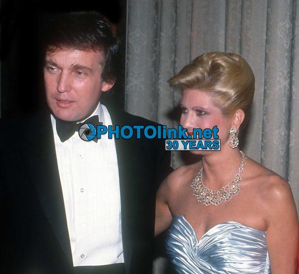Ivana Trump and Donald Trump<br /> Photo By John Barrett/PHOTOlink
