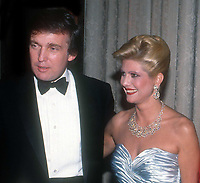 Ivana Trump and Donald Trump<br /> Photo By John Barrett/PHOTOlink