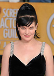 Pauley Perrette attends The 20th SAG Awards held at The Shrine Auditorium in Los Angeles, California on January 18,2014                                                                               © 2014 Hollywood Press Agency
