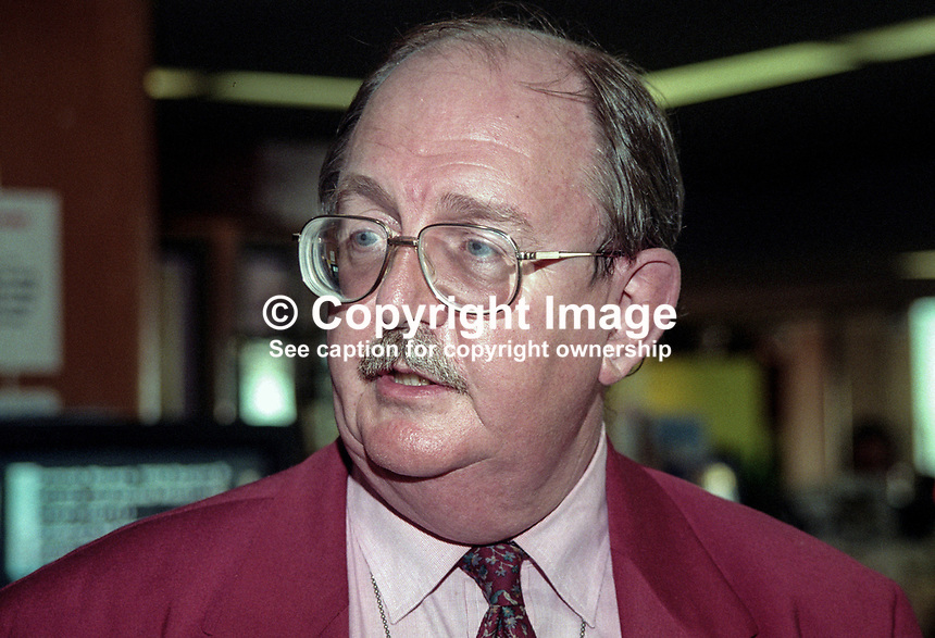 John Edmonds, general secretary, GMBATU, UK, October 1997. 199710011<br />