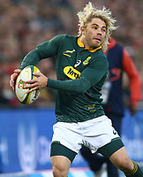 Faf de Klerk of South Africa during the 2018 Castle Lager Incoming Series 2nd Test match between South Africa and England at the Toyota Stadium.Bloemfontein,South Africa. 16,06,2018 Photo by Steve Haag / stevehaagsports.com