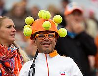16-09-12, Netherlands, Amsterdam, Tennis, Daviscup Netherlands-Suisse,Dutch fan