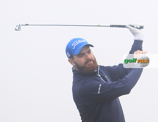 Kelan McDonagh (The Royal Dublin) during the 36 hole stroke play qualifying on April 4th 2015 for the 2015 West of Ireland Open Championship, Co. Sligo, Golf Club, Rosses Point, Sligo, Ireland.<br /> Picture: Thos Caffrey / Golffile