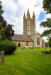 Parish church of Saint Sampson in the Saxon town of Cricklade, Wiltshire, England, UK