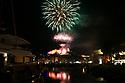 Fireworks in Bonifacio, Corsica, France, August 2nd, 2018. Photo/Paul McErlane