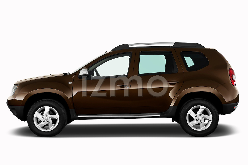 Driver side profile view of a 2010 Dacia Duster 4 Door SUV.