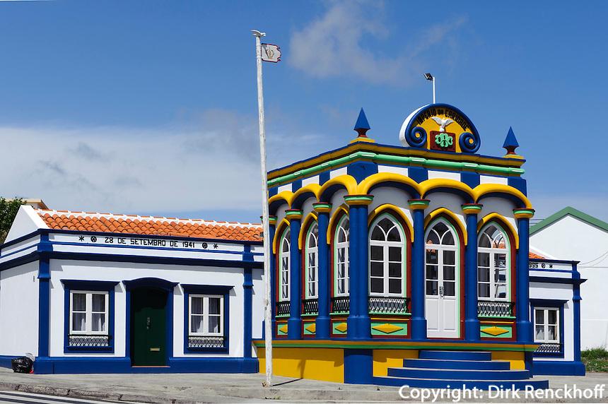 Heiliggeisttempel (Imperio)  in Praia da Vitoria auf der Insel Terceira, Azoren, Portugal