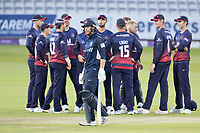 James Harris of Middlesex CCC looks ruefully at the big screen as it confirms his dismissal for 117 during Middlesex vs Lancashire, Royal London One-Day Cup Cricket at Lord's Cricket Ground on 10th May 2019