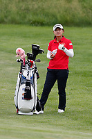 Sakura Yokomine (Japan) plays the 18th hole during the final round of the ShopRite LPGA Classic presented by Acer, Seaview Bay Club, Galloway, New Jersey, USA. 6/10/18.<br /> Picture: Golffile   Brian Spurlock<br /> <br /> <br /> All photo usage must carry mandatory copyright credit (&copy; Golffile   Brian Spurlock)