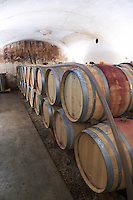 barrel aging cellar dom g amiot & f chassagne-montrachet cote de beaune burgundy france