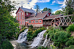 Clifton MIll Waterfall side