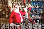 Santa paid a pre Christmas visit to Denmyrs to check their huge range of Christmas Decorations and presents.