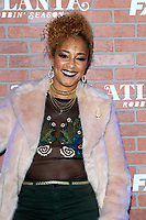 "LOS ANGELES - FEB 19:  Amanda Seales at the ""tlanta Robbin"" LA Premiere Screening at the Theatre at Ace Hotel on February 19, 2018 in Los Angeles, CA"