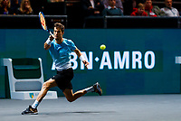 Rotterdam, The Netherlands, 9 Februari 2020, ABNAMRO World Tennis Tournament, Ahoy, Aljaz Bedene (SLO).<br /> Photo: www.tennisimages.com
