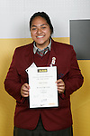 Girls Volleyball winner Pogai Falemai. ASB College Sport Young Sportperson of the Year Awards 2007 held at Eden Park on November 15th, 2007.