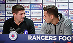 08.08.18 Rangers Europa League presser: Steven Gerrard and Nikola Katic