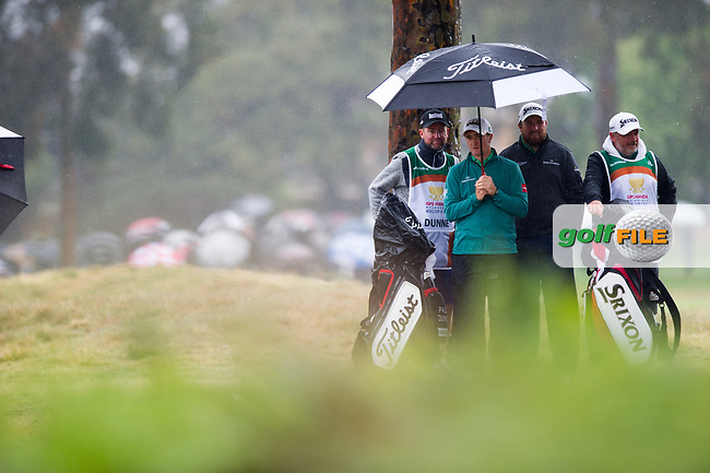Paul Dunne (IRL) and Shane Lowry (IRL) during the second day of the World cup of Golf, The Metropolitan Golf Club, The Metropolitan Golf Club, Victoria, Australia. 23/11/2018<br /> Picture: Golffile | Anthony Powter<br /> <br /> <br /> All photo usage must carry mandatory copyright credit (© Golffile | Anthony Powter)