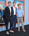 Liam Hemsworth, Chris Hemsworth, Luke Hemsworth<br />  attends The Warner Bros. Pictures' L.A. Premiere of Vacation held at The Regency Village Theatre  in Westwood, California on July 27,2015                                                                               &copy; 2015 Hollywood Press Agency