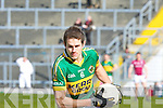 Kerry Centre Back Eoin Brosnan solos the ball upfield  during their Allianz National Football League clash in Killarney last Sunday