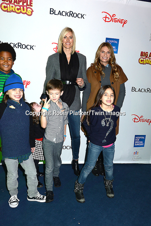 Kristen Taekman and Heather Thomson of The Real Housewives of New York and their children attend the Hospital for Special Surgery's 8th Annual  Big Apple Circus Benefit on December 6, 2014 at Damrosch Park in Lincoln Center  in New York City, USA.<br /> <br /> photo by Robin Platzer/Twin Images<br />  <br /> phone number 212-935-0770