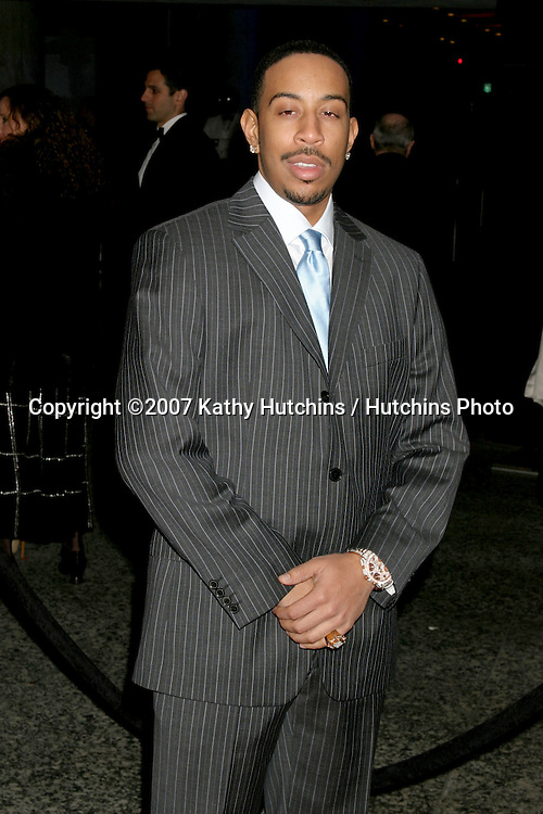 """Chris """"Ludacris"""" Bridges.Paramount Pictures Post Golden Globe Party.Beverly Hills,  CA.January 14, 2007.©2007 Kathy Hutchins / Hutchins Photo."""