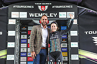 Picture by Alex Whitehead/SWpix.com - 16/05/2017 - Cycling - Tour Series Round 4, Wembley - Matrix Fitness Grand Prix - Drops Cycling's Rebecca Durrell is Eisbergwine Sprints winner on the evening.