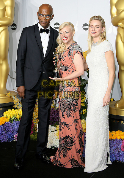 02 March 2014 - Hollywood, California - Samuel L. Jackson, Catherine Martin, Naomi Watts. 86th Annual Academy Awards held at the Dolby Theatre at Hollywood &amp; Highland Center. <br /> CAP/ADM<br /> &copy;AdMedia/Capital Pictures