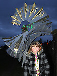 Ellen O'Reilly Smith pictured at the lighting of the Pascal Fire on the hill of Slane. Photo: Colin Bell/pressphotos.ie