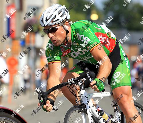 2010-08-09 / Wielrennen / Derny's Wilrijk / Nico Eeckhout..Foto: mpics