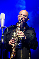 Jeff Coffin (Saxophone) The Dave Matthews Band Live in ROME at the Palalottomatica Arena, ROME, Italy on 20 October 2015. Photo by Valeria  Magri.