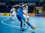 Uzbekistan vs South Korea during the AFC Futsal Championship Chinese Taipei 2018 Group Stage match at University of Taipei Gymnasium on 01 February 2018, in Taipei, Taiwan. Photo by Yu Chun Christopher Wong / Power Sport Images