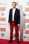 "Fernando Ramallo attends to the premiere of the spanish film ""Toro"" at Kinepolis Cinemas in Madrid. April 20, 2016. (ALTERPHOTOS/Borja B.Hojas)"