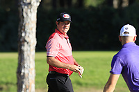 Scott Hend (AUS) chips onto the 5th green and holes it during Saturday's Round 3 of the 2018 Turkish Airlines Open hosted by Regnum Carya Golf &amp; Spa Resort, Antalya, Turkey. 3rd November 2018.<br /> Picture: Eoin Clarke | Golffile<br /> <br /> <br /> All photos usage must carry mandatory copyright credit (&copy; Golffile | Eoin Clarke)