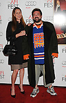 HOLLYWOOD, CA - NOVEMBER 01: Kevin Smith and Jennifer Schwalbach  arrive at the opening night gala premiere of 'Hitchcock' during the 2012 AFI FEST at Grauman's Chinese Theatre on November 1, 2012 in Hollywood, California.
