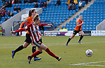 Jade Pennock scoring the first goal during the The FA Women's Championship match at the Proact Stadium, Chesterfield. Picture date: 8th December 2019. Picture credit should read: Simon Bellis/Sportimage