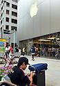 Apple fans already in line at Ginza Apple Store before iPhone 6 announcement